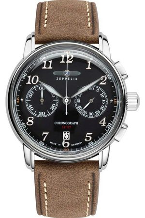 Zeppelin Reloj analógico 8678-2, Quartz, 43mm, 5ATM para hombre