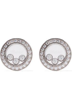 Chopard Pendientes Happy Diamonds Icons en oro blanco 18kt