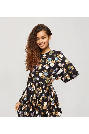 Miss Selfridge Vestido amplio con estampado floral de