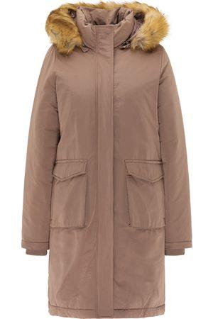 USHA Abrigo de invierno color barro