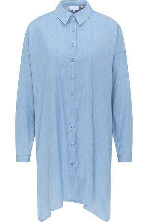 usha BLUE LABEL Vestido camisero / claro