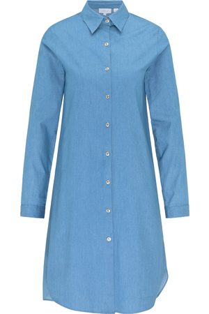 usha BLUE LABEL Vestido camisero denim