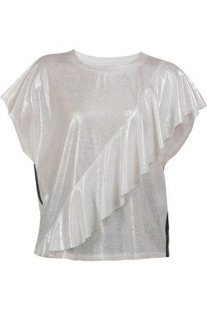 myMo Camiseta plata / moteado