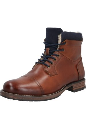 ABOUT YOU Botas 'Finn' / cognac