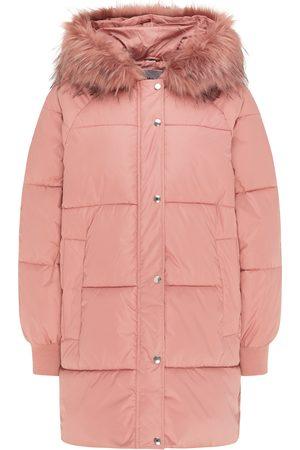 myMo Abrigo de invierno rosé