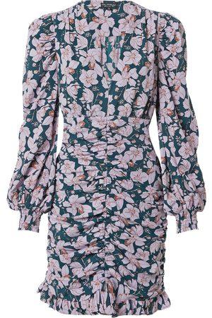 Miss Selfridge Vestido lila / petróleo / altrosa