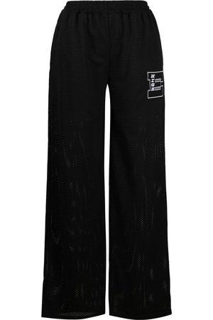 McQ Pantalones anchos con detalle de parches