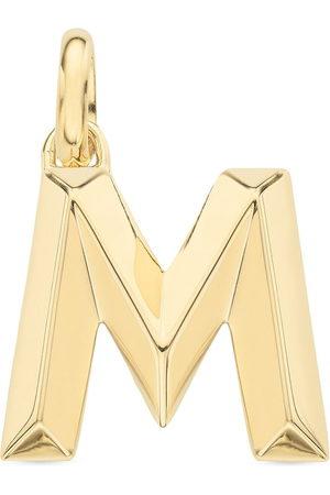Monica Vinader Charm con colgante Alphabet M