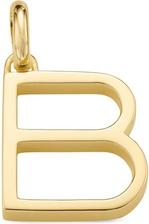 Monica Vinader Charm con colgante Alphabet B