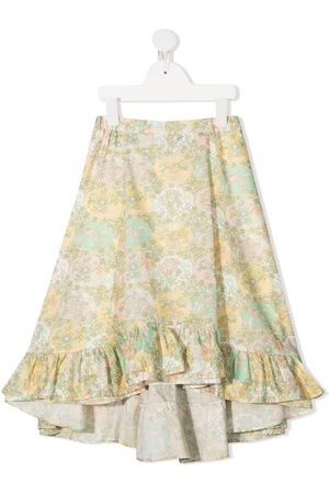 BONPOINT Embroidered ruffle skirt