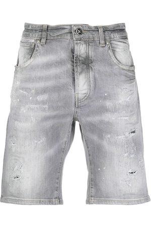 John Richmond Hombre Vaqueros - Pantalones vaqueros cortos con efecto degradado
