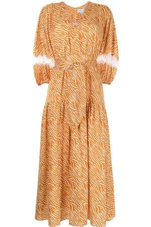 Sachin & Babi Cassida zebra print dress