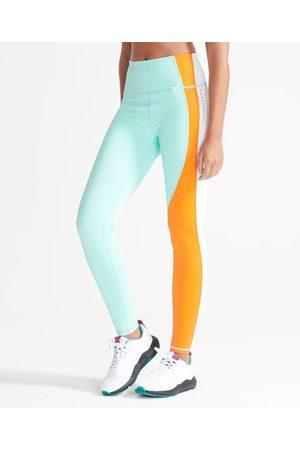 Superdry Mujer Leggings - Sport Leggings asimétricos Training