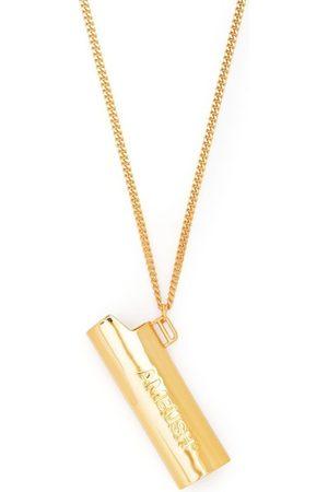 AMBUSH Collares - Logo-embossed lighter necklace