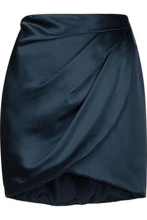 Michelle Mason Falda corta drapeada