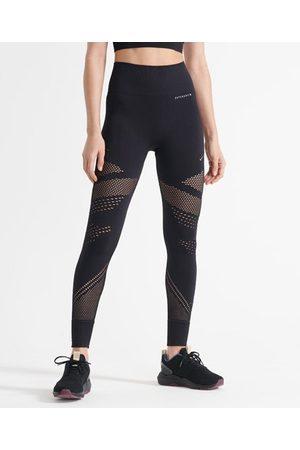 Superdry Mujer Leggings - Sport Leggings Training con contorno