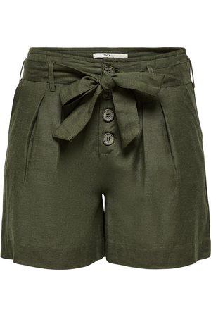 ONLY Mujer Estampados - Pantalón plisado