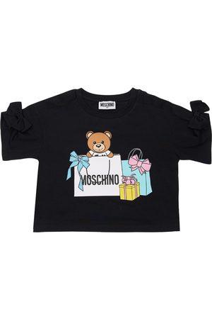 MOSCHINO | Niña Camiseta De Jersey De Algodón Estampada 8a