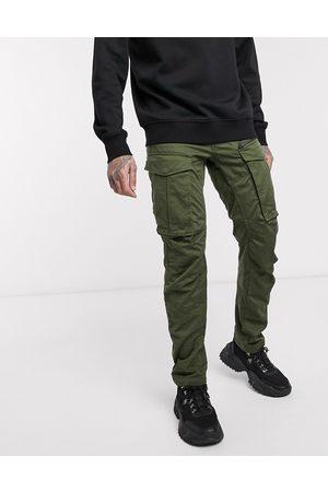 G-Star Pantalones tapered rectos caquis con cremallera en 3D Rovic de -Verde