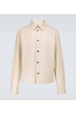 Bottega Veneta Camisa de sarga de algodón