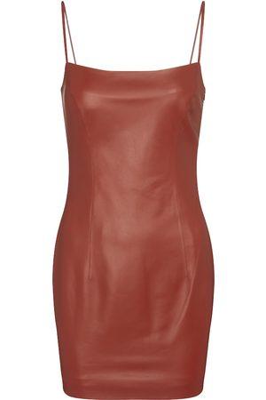 Zeynep Arcay Vestido corto de piel