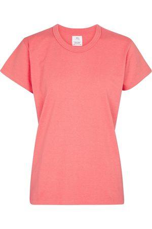 VISVIM Camiseta de punto fino de algodón