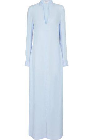 GABRIELA HEARST Vestido túnica largo Albon de lino