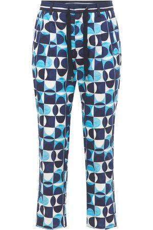 Dolce & Gabbana | Hombre Pantalones Jogging Geométrico De Popelina 44