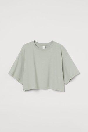 H&M Camiseta cropped