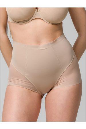 Luna Mujer Braguitas - Reductores y moldeadores Slip amincissant mesh extra-fin taille haute 26 cm Sculpt para mujer