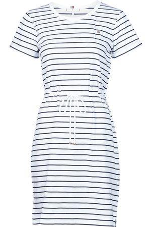 Tommy Hilfiger Vestido TH COOL STP SHIFT SHORT DRESS SS para mujer