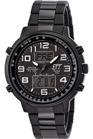 ETT Eco Tech Time Reloj digital EGS-11390-25M, Quartz, 48mm, 10ATM para hombre