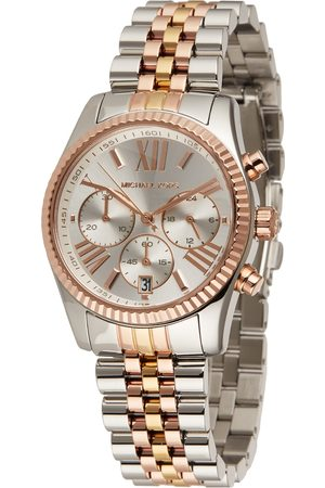 Michael Kors Reloj analógico 'Lexington' oro / plata