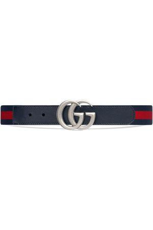 Gucci Cinturón con tribanda elástica