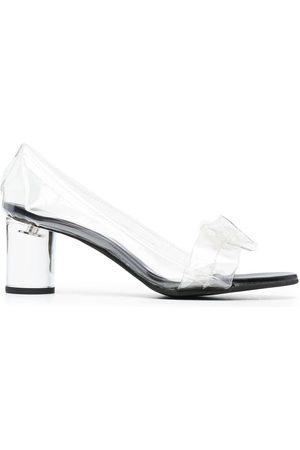 Comme des Garçons Zapatos de tacón con lazo