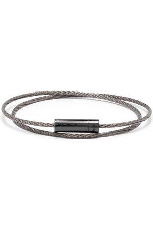 Le Gramme Pulsera de cable doble