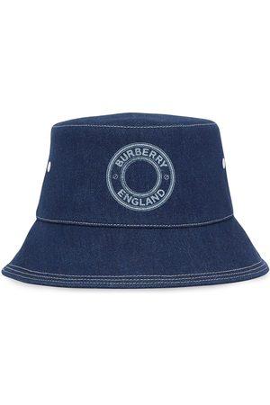 Burberry Sombrero de pescador vaquero con logo