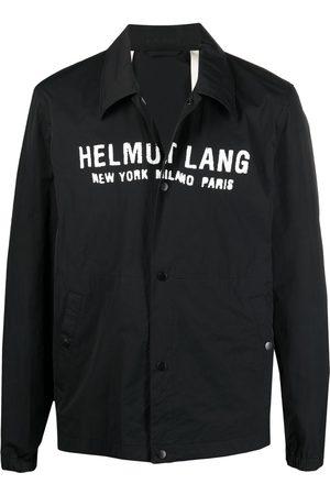Helmut Lang Logo-print long-sleeved shirt