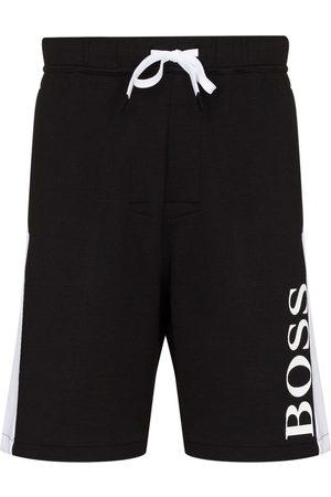 HUGO BOSS Pantalones cortos de deporte con logo estampado