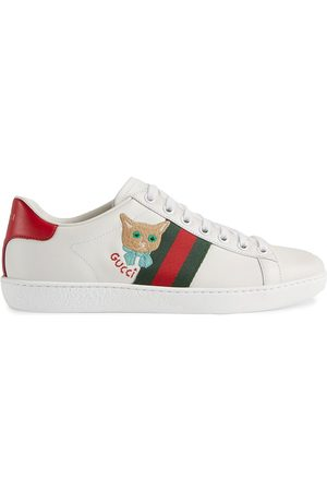 Gucci Zapatillas Ace con bordado de gato
