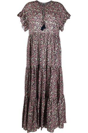 P.a.r.o.s.h. Mujer Largos - Vestido largo con motivo floral
