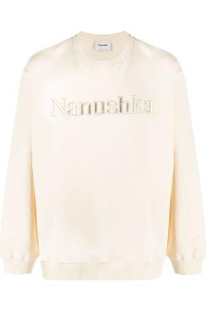 Nanushka Sudadera con logo bordado