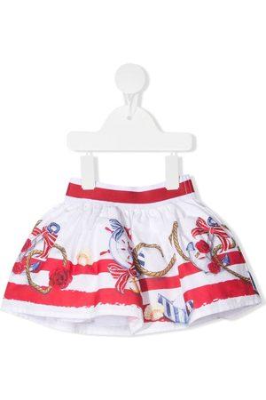 MONNALISA Minifalda con estampado de anclas