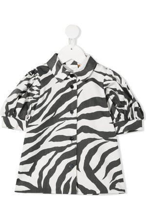 CAROLINE BOSMANS Blusa con estampado de cebra