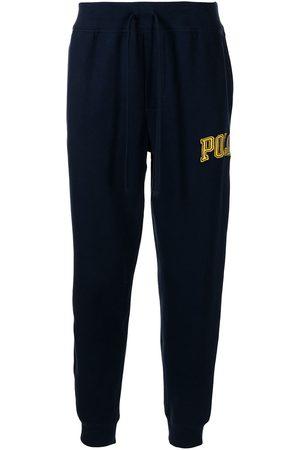 Polo Ralph Lauren Pantalones de chándal rectos con parche del logo