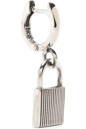 EMANUELE BICOCCHI Lock-detail hoop earring