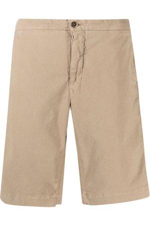 Incotex Knee-length cotton shorts