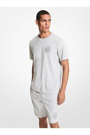 Michael Kors Polos - MKCamiseta de algodón con logotipo - Jaspeado