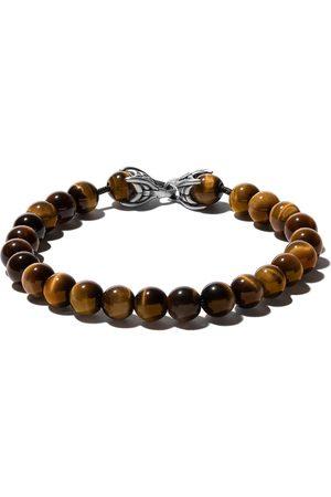 David Yurman Hombre Pulseras - Pulsera Spiritual Beads con ojo de tigre