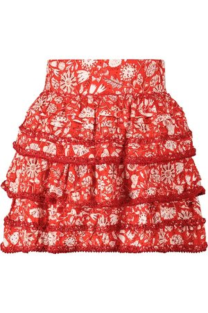 POUPETTE ST BARTH Exclusivo en Mytheresa - minifalda Bibi floral